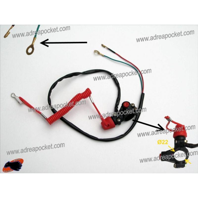 Coupe Circuit Type 1 arrachement Pocket Bike - Pocket Quad