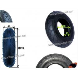 pneu 200x50 trottinette